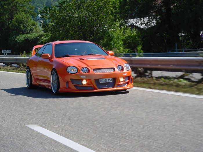 ******* GT FOUR Drivers Club Switzerland *******  Fahrzeug: GT FOUR ST  205 - Driver: Orange