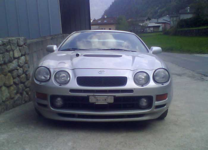 ******* GT FOUR Drivers Club Switzerland *******  Fahrzeug: GT FOUR ST  205 -  Driver: Gianpiero
