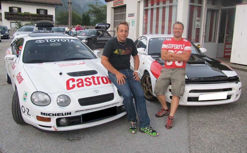 ******* GT FOUR Drivers Club Switzerland *******  Fahrzeug: GT FOUR ST  205 -  Driver: Andreas